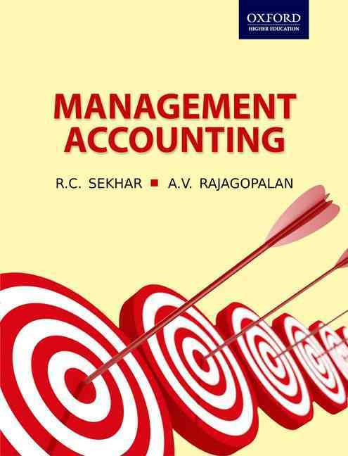 Management Accounting By Sekhar, Late R. C./ Rajagopalan, A. V.